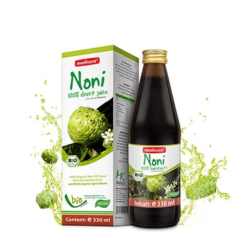 Био сок от плодове на Нони (Morinda citrifolia) 330мл